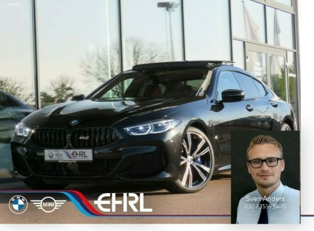 BMW 840i Gran Coupe M Sport Laser DA+PA+Pano Standhz, Jahr 2020, Benzin