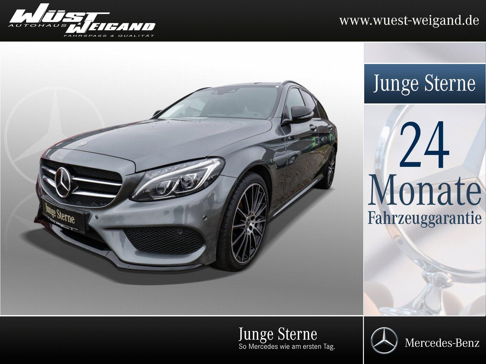 Mercedes-Benz C 400 4M T AMG-Line+Distronic+Comand+PTS+Kamera, Jahr 2017, Benzin