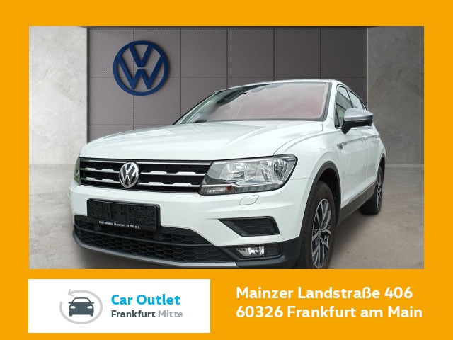 Volkswagen Tiguan Allspace 2.0 TDI Comfortline Navi Klima LM-Felgen Tiguan 2.0LWBCLBMTFR 110TDIM6F, Jahr 2018, Diesel
