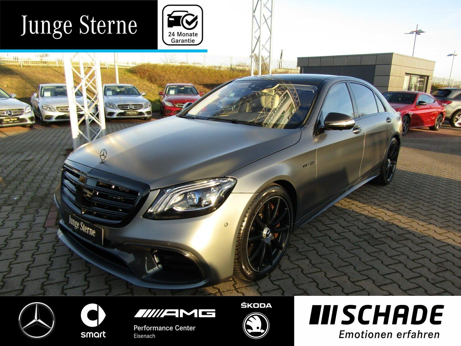 Mercedes-Benz S 63 AMG 4M+ lang First-Class Fond*NP: 242.850,-, Jahr 2017, Benzin
