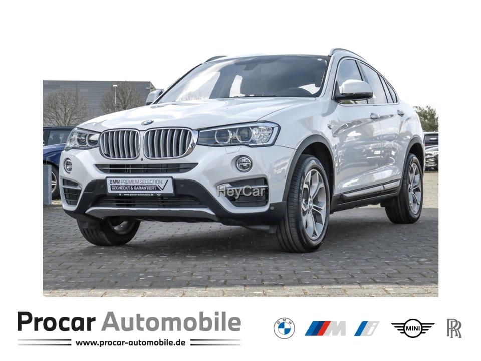 BMW X4 xDrive20d xLine Navi Prof. Head-Up Leder RFK, Jahr 2017, Diesel