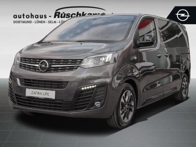 Opel Zafira Life TOURER M 2.0 Leder + Glasdach + Standhzg + AHK, Jahr 2021, Diesel