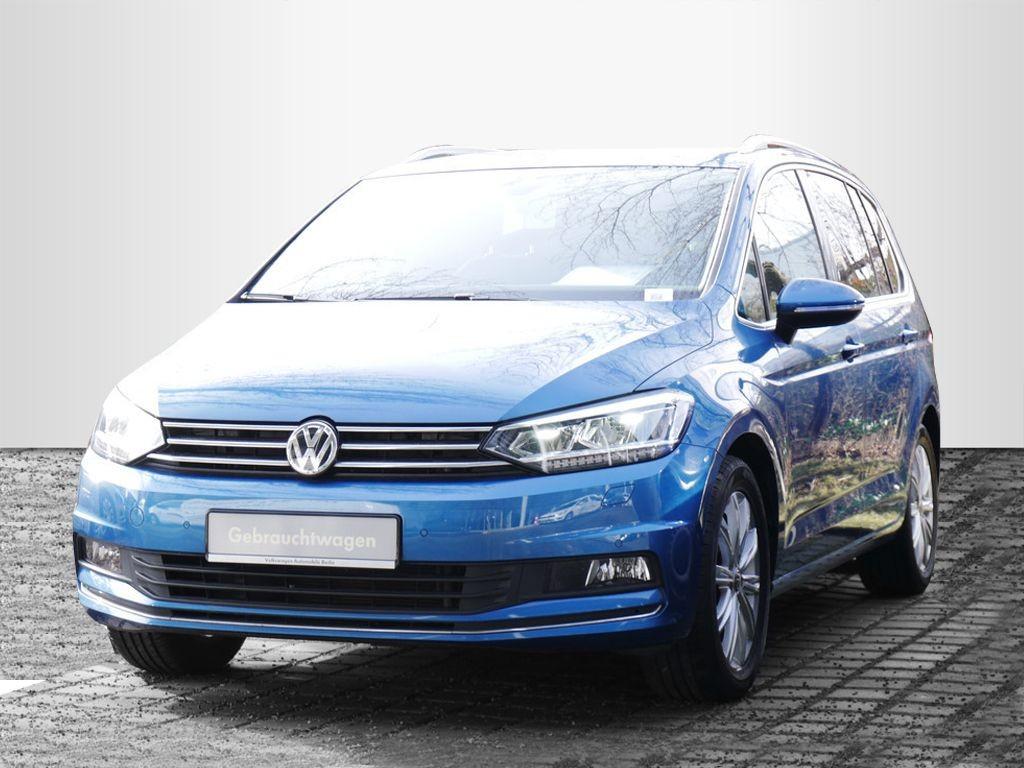 Volkswagen Touran 1.4TSI DSG Highline NAVI PDC SHZ, Jahr 2017, Benzin