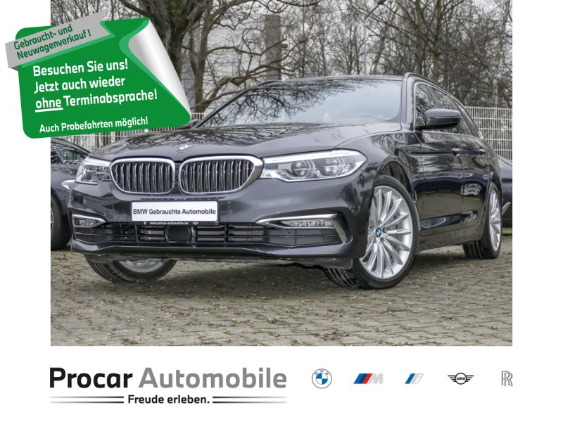 BMW 540i xDrive Touring Luxury Line +Head-Up Display+Navigation+DAB+ LED-Leuchten, Jahr 2018, Benzin