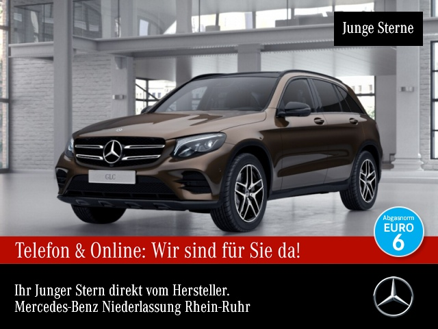 Mercedes-Benz GLC 250 4M AMG 360° Stdhzg Pano LED Night Navi, Jahr 2017, Benzin