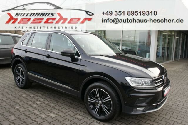 Volkswagen Tiguan 2,0TDI Highline DSG 4Motion*LED*ACC*EU6*, Jahr 2017, Diesel