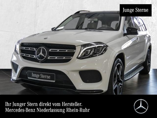 Mercedes-Benz GLS 400 4M AMG 360° Airmat Stdhzg Pano Harman HUD, Jahr 2016, petrol