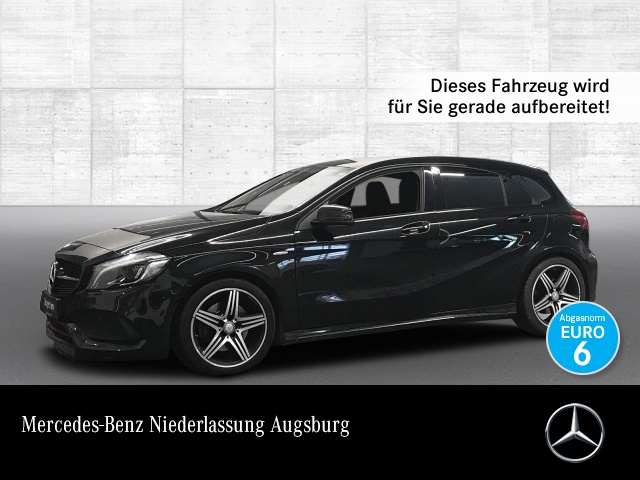 Mercedes-Benz A 250 AMG Sport LED Night Navi Klimaautom PTS, Jahr 2015, petrol