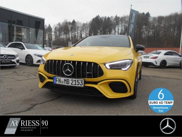 Mercedes-Benz CLA 45 S 4M NIGHT PANO MBUX 360° MULTIB AMBIENTE, Jahr 2019, Benzin
