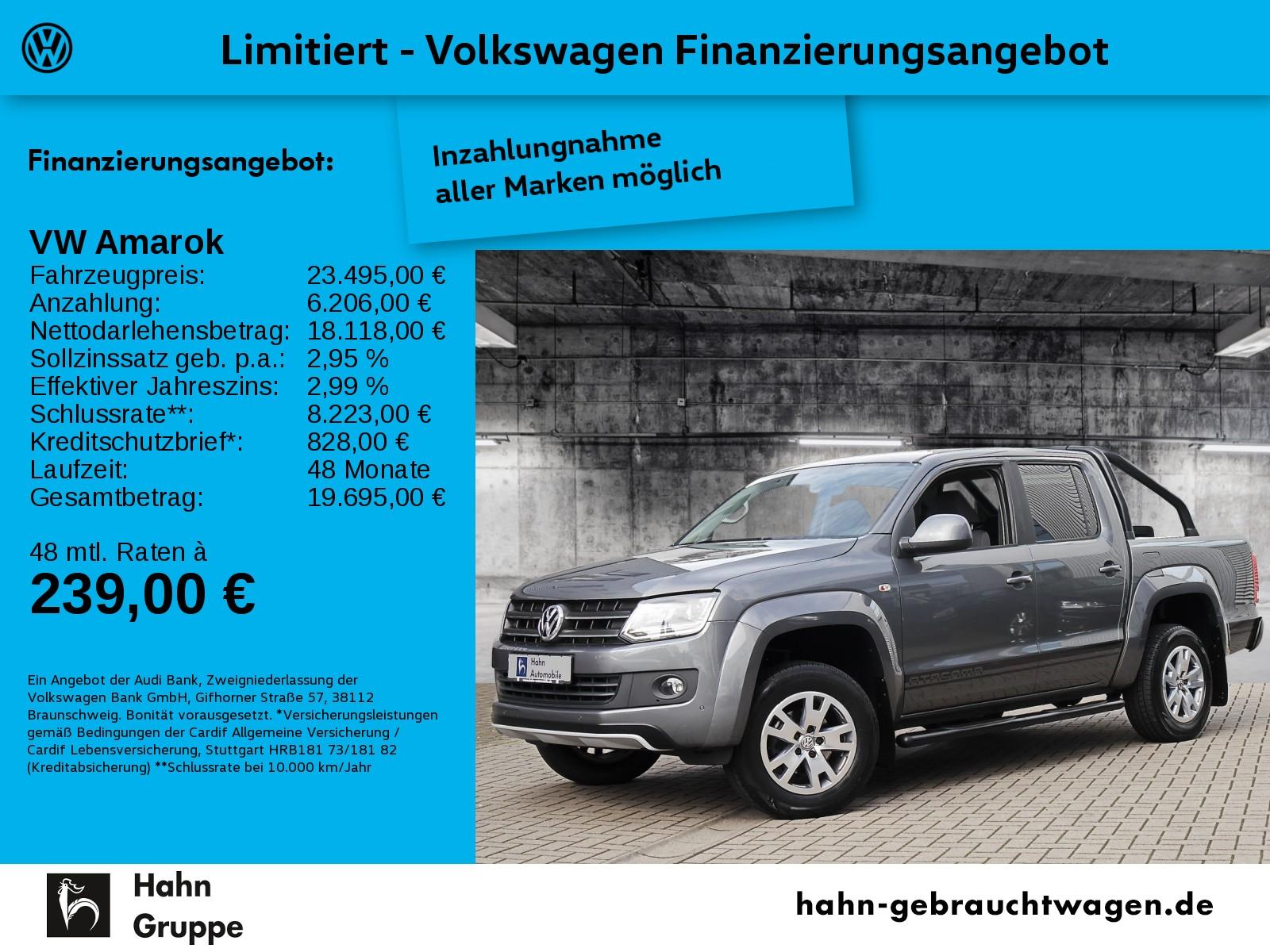 """Volkswagen Amarok Trendline """"Atacama"""", Jahr 2016, diesel"""