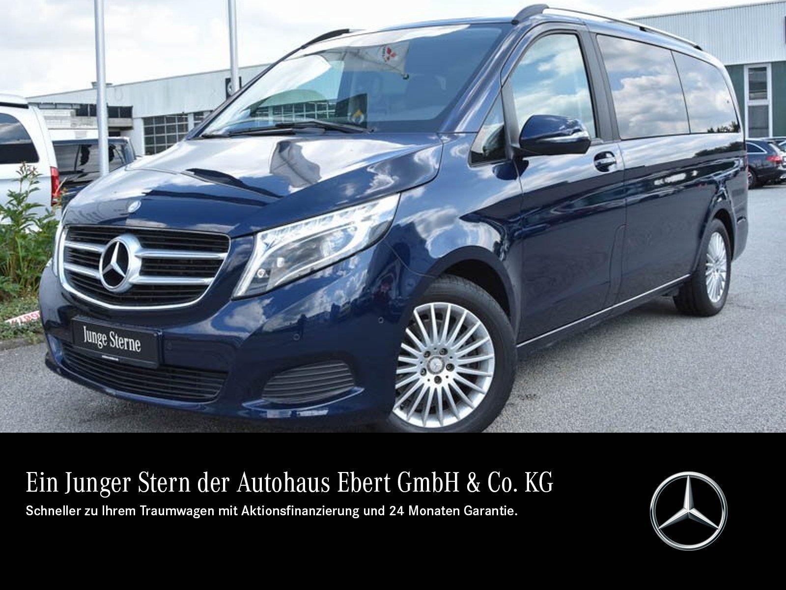 Mercedes-Benz V 220 d EDITION lang 7G+RFK+LED+EASYP+SHZG+AHK, Jahr 2017, Diesel