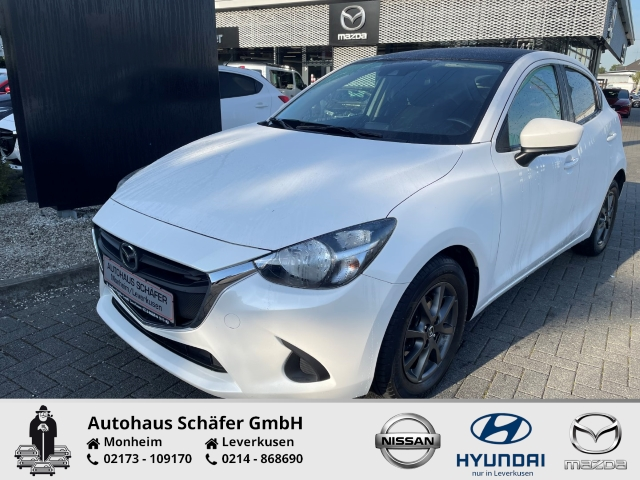 Mazda 2 Signature+ 1.5 SKYACTIV-G 75 EU6d-T Keyless Multif.Lenkrad NR RDC Klima Temp Soundsystem, Jahr 2018, Benzin