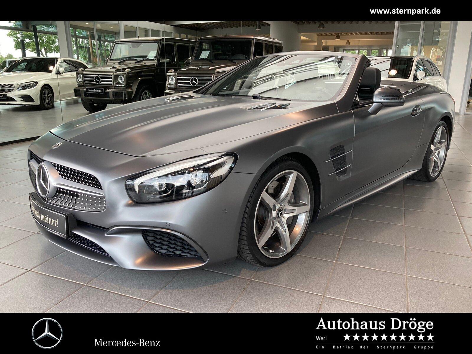 Mercedes-Benz SL 500 AMG Comand*Pano*Distro*H+K*Kamera*Keyless, Jahr 2017, Benzin