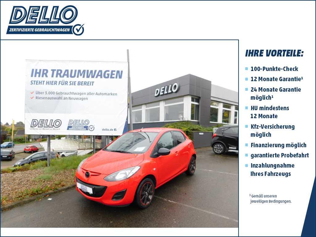 Mazda 2 Iro 1.3 75 Klimaanlage LM-Felgen, Jahr 2014, petrol