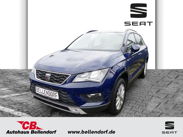 Seat Ateca STYLE 4DRIVE 2.0 TDI EURO 6 KLIMAAUTOM+SHZ+RÜCKFAHRKAM:+LED-TAGFAHRLICHT, Jahr 2016, Diesel