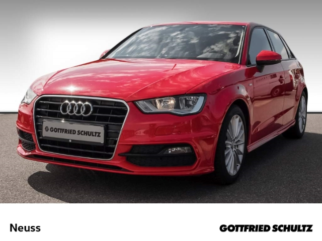 Audi A3 Sportback 1,4 TFSI S-LINE+NAVI+B&O+STANDHZG+LED Ambition, Jahr 2013, Benzin