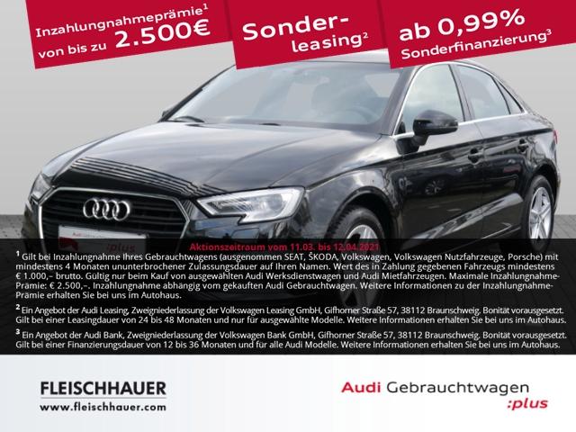 Audi A3 30 TDI XENON+NAVI+SHZ+PDC+connect+sound+4-Season, Jahr 2019, Diesel