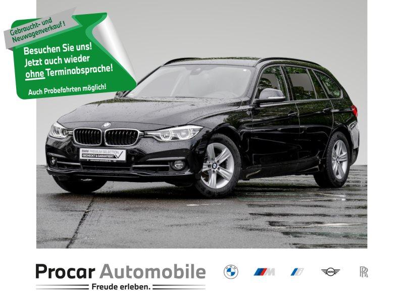 BMW 318i NAVI+LED+HIFI+KLIMAAUTOMATIK+TEMPOMAT+ALU++, Jahr 2019, Benzin