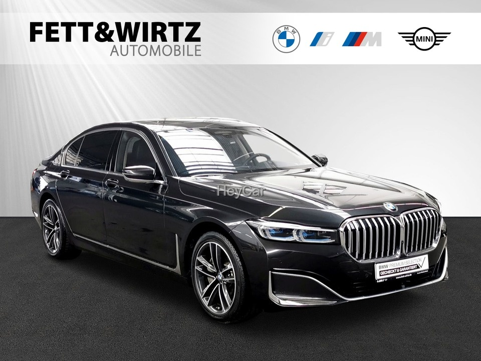 BMW 745Le xDrive UPE 144.480,- Komforts.-Fond+Lüft., Jahr 2019, Hybrid