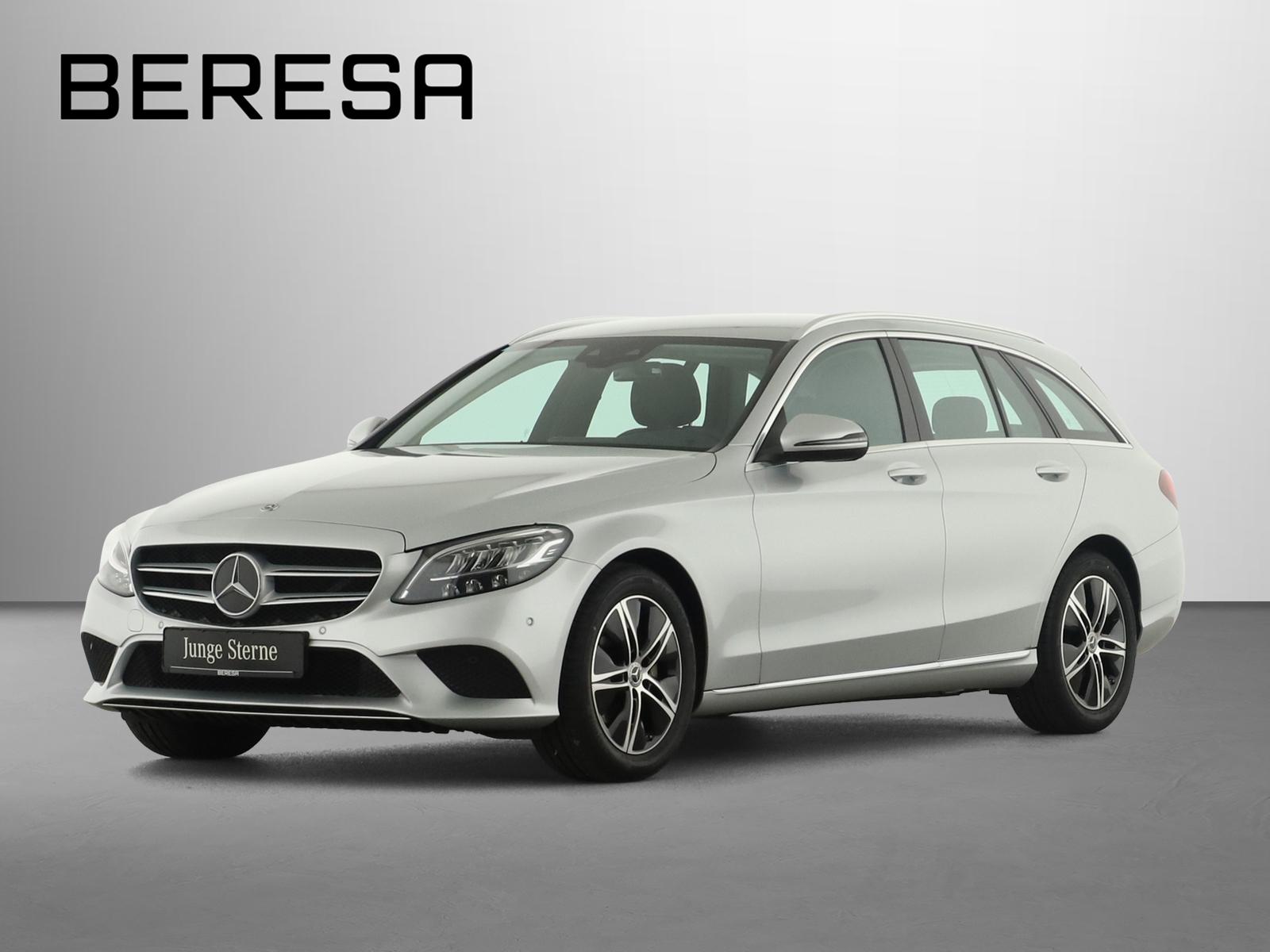 Mercedes-Benz C 220 d T Avantgarde Spur-P. LED AHK Kamera Navi, Jahr 2020, Diesel
