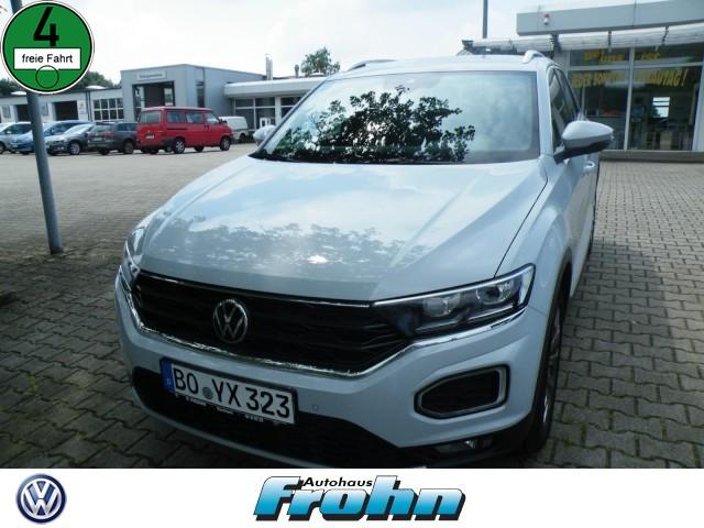 Volkswagen T-Roc Sport 1.5 l TSI OPF 110 kW (150 PS) 7-Gang-Doppelkupplungsgetriebe DSG, Jahr 2021, Benzin