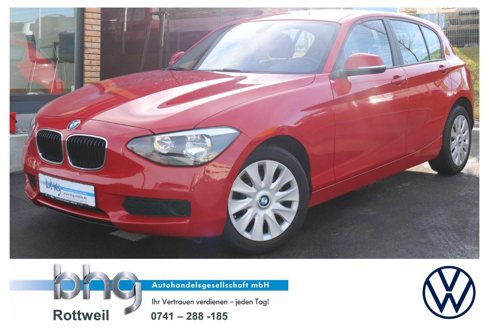 BMW 116 116i, Jahr 2012, petrol