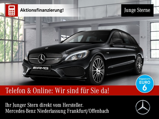 Mercedes-Benz C 43 AMG T 4M Pano LED COMAND 19'' Night PTS, Jahr 2017, Benzin
