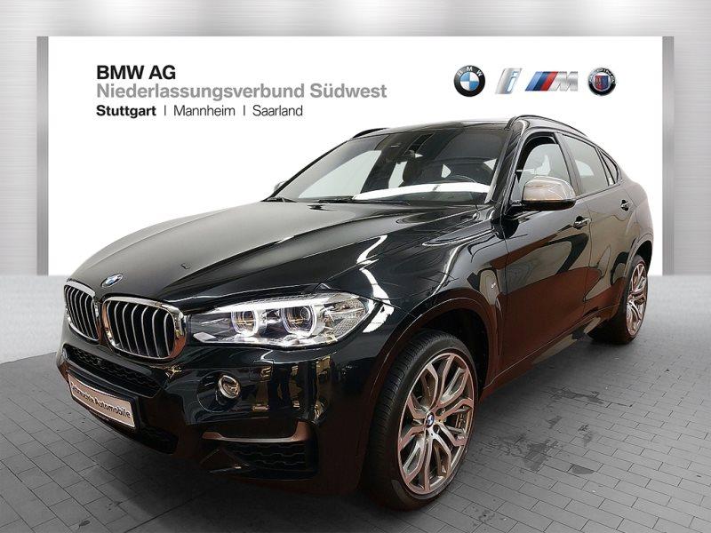 BMW X6 M50d Sportpaket Head-Up HK HiFi DAB RFK Shz, Jahr 2017, Diesel