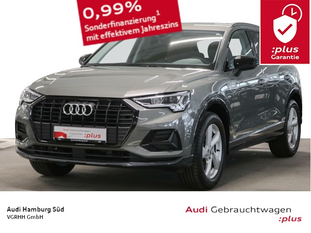 Audi Q3 35 TFSI Sport advanced NAVI/LED/VIRTUAL/AHK/OPTIKPAKET, Jahr 2019, Benzin