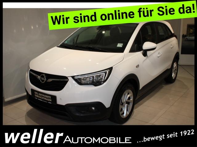 Opel Crossland X 1.2 Edition IntelliLink Parksensoren Klima Schilderassistent, Jahr 2017, Benzin