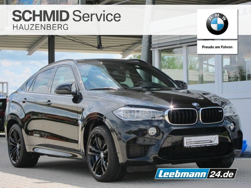 BMW X6 M 1.HAND AHK/HK-HIFI 2 JAHRE GARANTIE, Jahr 2018, Benzin