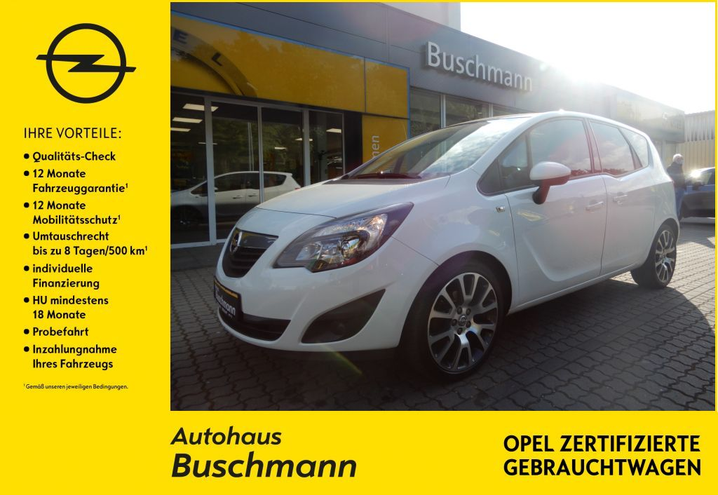 Opel Meriva 1.4 ecoflex Edition, Jahr 2012, Benzin