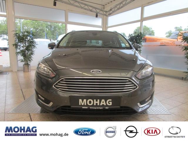 Ford Focus Turnier Titanium 1.0l *ParkPilot-Klima* -Euro 6-, Jahr 2016, Benzin