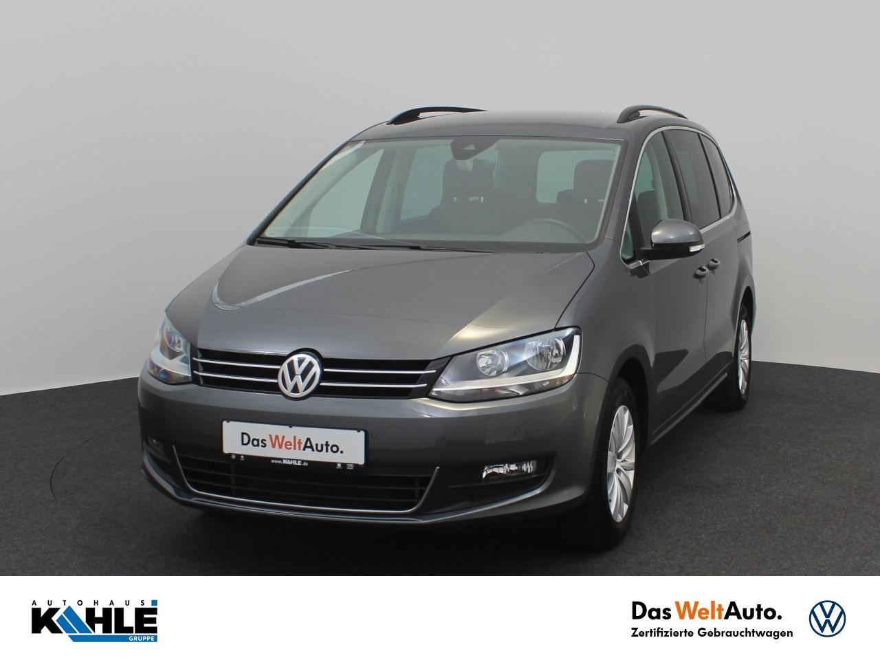 Volkswagen Sharan 2.0 TDI Comfortline 7-Sitzer Navi Klima AHK, Jahr 2020, Diesel