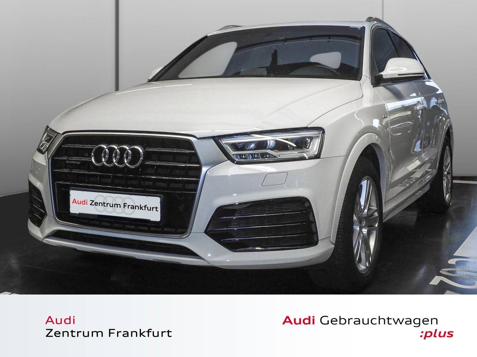 Audi Q3 2.0 TDI quattro S tronic S line Navi Panorama LED Sitzheizung, Jahr 2016, Diesel