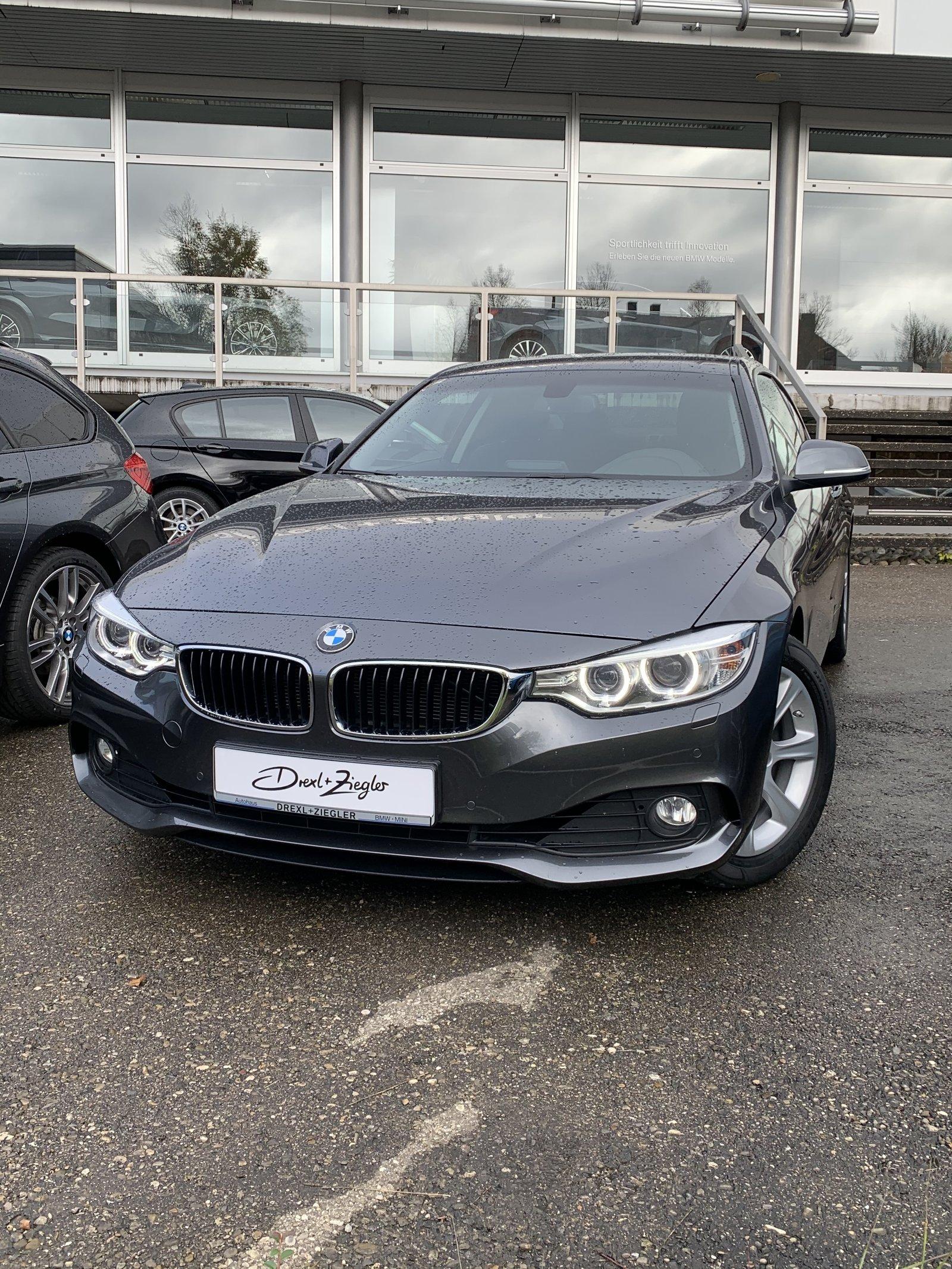 BMW 420i Coupe XENON NAVI PDC KLIMA HiFi LMR17, Jahr 2014, Benzin