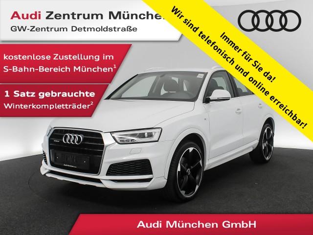 "Audi Q3 Sport 2.0 TDI qu. S line 20"" AHK LED Navi Komfortpaket 6-Gang, Jahr 2017, diesel"