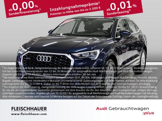 Audi Q3 Sportback 45 TFSI qu. Navi+LED+AHK+VC+PDC+DAB+connect, Jahr 2020, Benzin