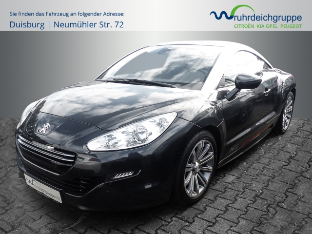 Peugeot RCZ Basis 1.6 155 THP NAVI-LED Tagfahrlicht-Automatik, Jahr 2014, Benzin