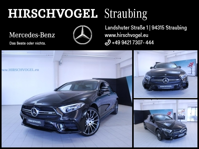 Mercedes-Benz CLS 53 AMG 4M+ Night+SD+DISTRONIC+Com+MULTIBEAM, Jahr 2019, petrol