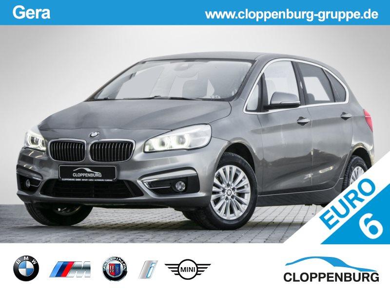 BMW 218i Luxury-L./LED/Sitzheiz./Freisprech. -, Jahr 2014, petrol