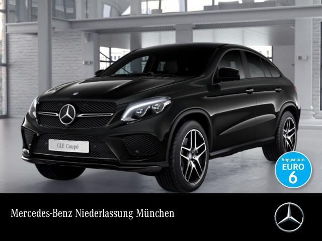 Mercedes-Benz GLE 500 Cp. 4M AMG 360° Airmat Stdhzg Pano Distr+, Jahr 2016, petrol