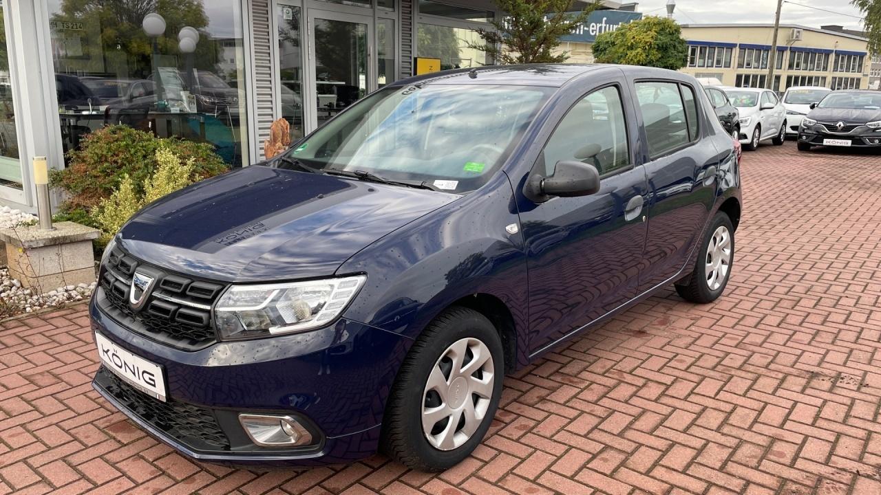 Dacia Sandero II Ambiance 1.0 SCe 75 Klimaanlage, Jahr 2018, Benzin