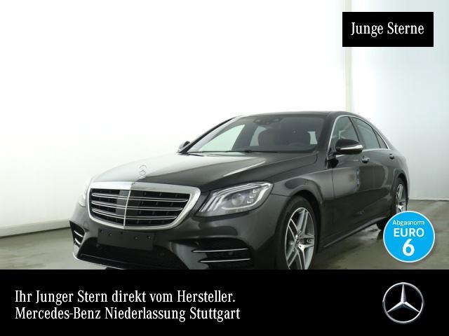 Mercedes-Benz S 450 4M AMG Fahrass Nachtsicht Pano Multibeam HUD, Jahr 2018, petrol