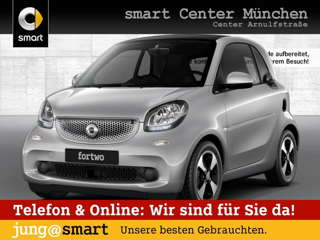 smart fortwo coupé 60kWed passion cool&Audio Pano, Jahr 2018, Elektro