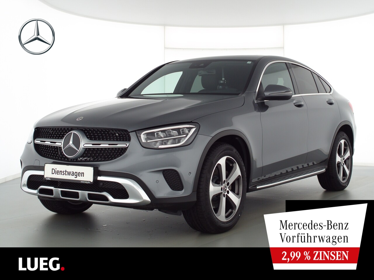 Mercedes-Benz GLC 200 d 4M Coupé EXCLUSIVE+SHD+AHK+19''+SOUND, Jahr 2021, Diesel