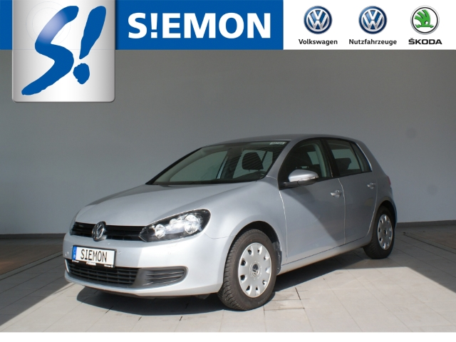 Volkswagen Golf VI 1.4 Trendline AHK Klimaauto SHZ PDC, Jahr 2012, petrol