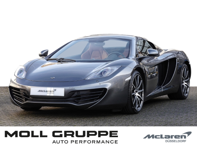 McLaren MP4-12C Spider, Graphite Grey, Carbon Fibre, Jahr 2014, Benzin
