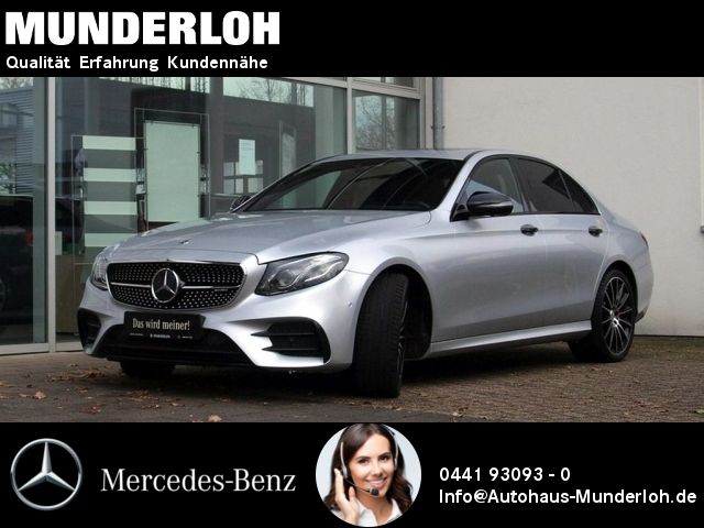 Mercedes-Benz AMG E 43 4MATIC Designo Comand Fahrassist. 360°, Jahr 2016, Benzin