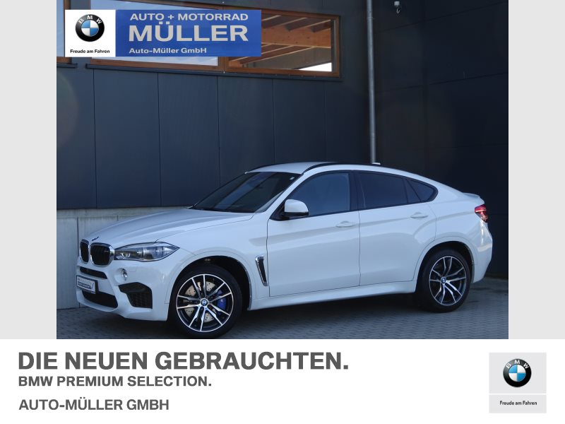 BMW X6 M DAB Navi LED Soft-Close Standheiz., Jahr 2017, Benzin
